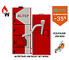 Пелетный  котел Альтеп Duo  Uni Pellet 33 кВт (KT-2EPG) +Eco-Palnik Uni-MAx