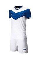 Футбольная форма Europaw 019 бело-синяя