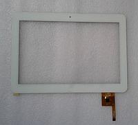Оригинальный тачскрин / сенсор (сенсорное стекло) для PB101A8495-T100-L (белый цвет, самоклейка)