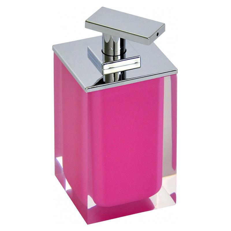 Ridder Colours Дозатор для жидкого мыла розовый