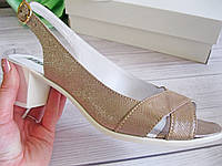 Босоножки женские на широком каблуке Обувь Vistani, фото 1