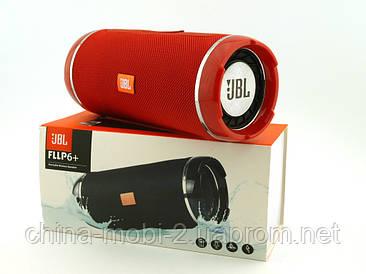 JBL Flip 6+ T&G116 10W копія, портативна колонка з Bluetooth FM MP3, червона