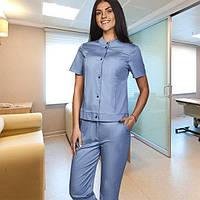 """Жіночий   медичний костюм """"Черрі """"(коттон)"""