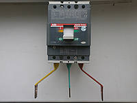Автоматический выключатель ABB Tmax T2N160 3-п 160А, 15кА 1SDA050880R1