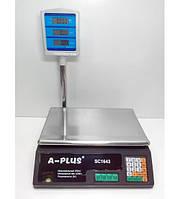 Комп'ютерні електронні ваги А-Плюс 50 кг