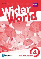 Wider World 4 Teacher's Book with DVD-ROM / Книга для учителя