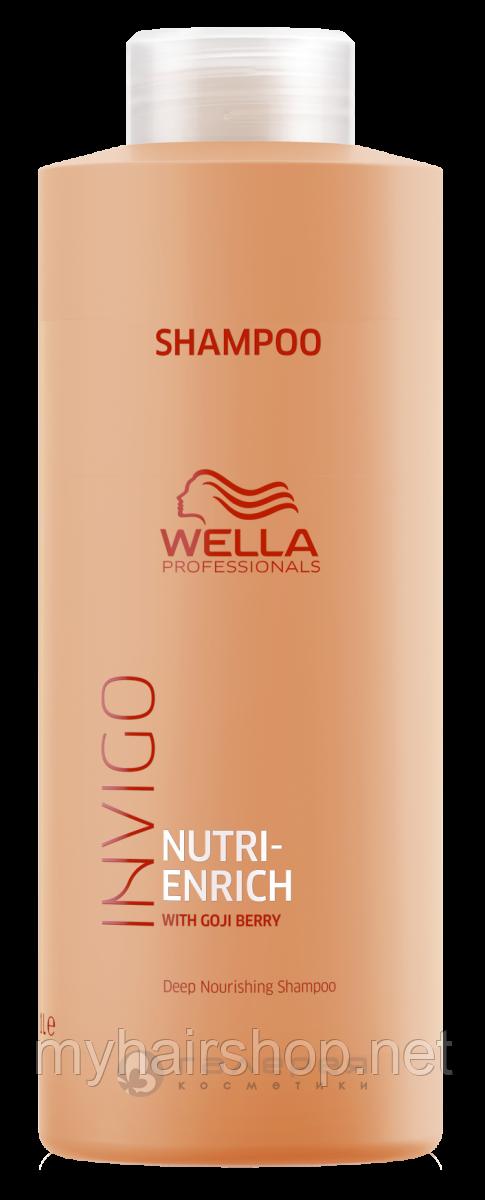 Шампунь питательный Wella Professionals Invigo Nutri Enrich Deep Nourishing Shampoo 1000 мл