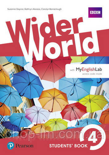 Учебник Wider World 4 Student's Book with MyEnglishLab
