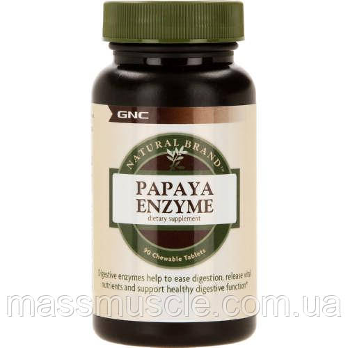 Энзимы GNC Papaya Enzyme 90 tabs