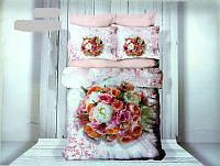 Двуспальный комплект постельного белья ALTINBASAK 3D евро сатин