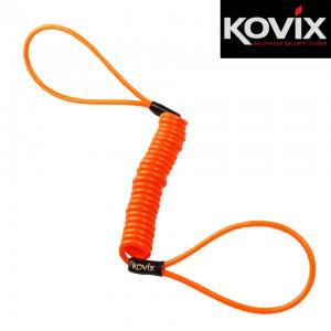 Трос блокировочний Kovix оранжевый