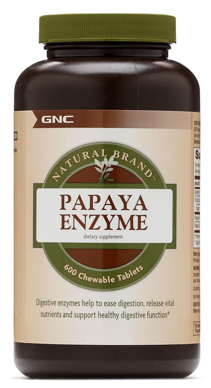 Энзимы GNC Papaya Enzyme 600 tabs