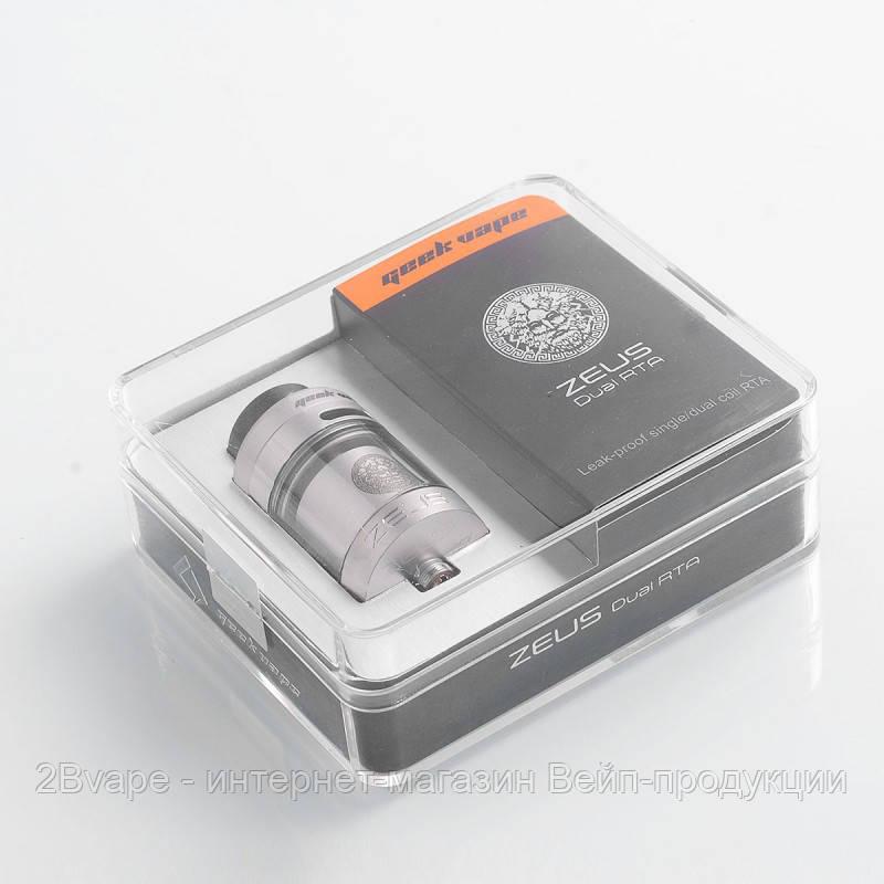 Атомайзер GeekVape Zeus Dual RTA 5,5ml купить в Украине