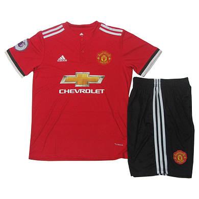 Футбольная форма Manchester United основная 2017-2018 (реплика)