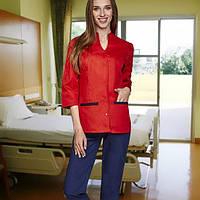 """Жіночий   медичний костюм """"Каміла """"(коттон), фото 1"""