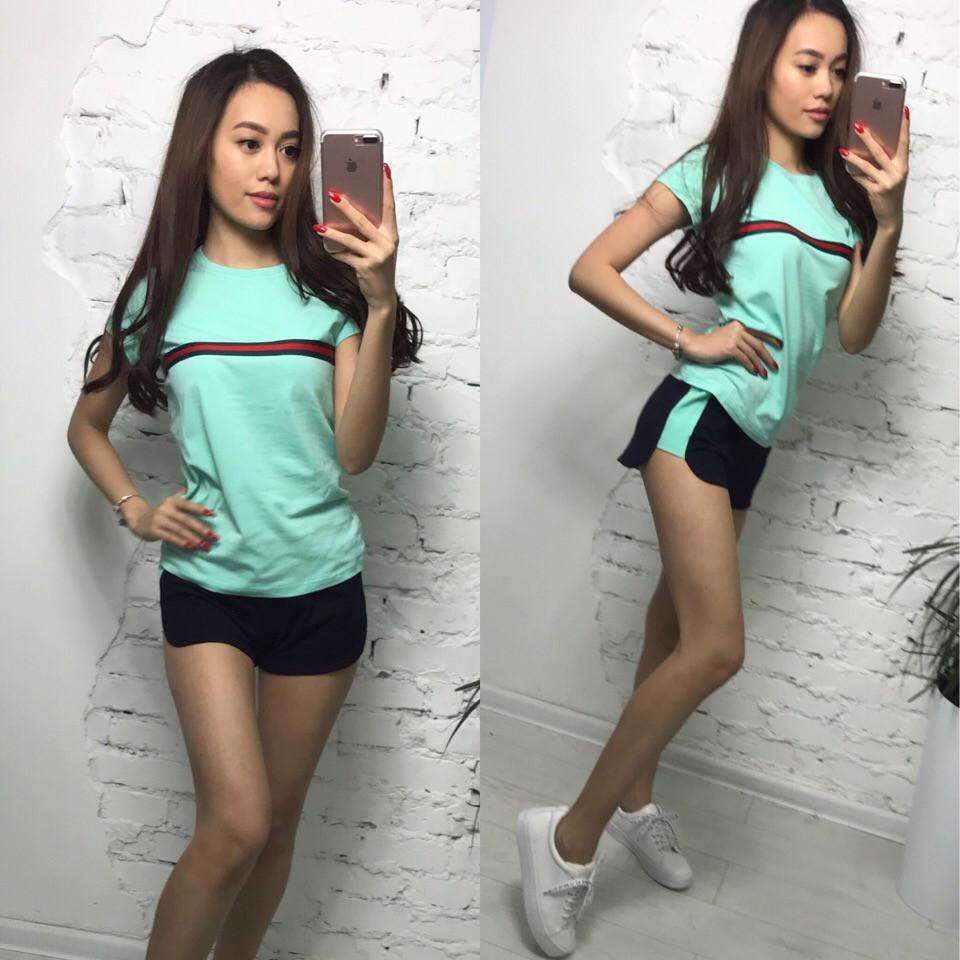 Костюм футболка и шорты, размеры s m l xl Турция