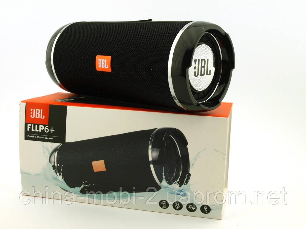 JBL  Flip 6+ T&G116 10W копия, портативная колонка с Bluetooth FM MP3, черная