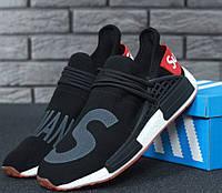 Кроссовки Adidas NMD Pharrell Williams x  'Human Race' Supreme Black. B Живое фото (Реплика ААА+), фото 1