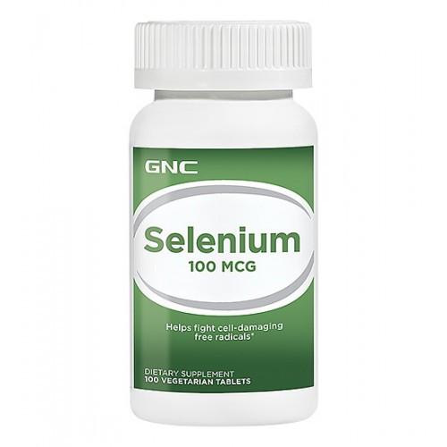 Селен GNC Selenium 100 mg 100 tabs