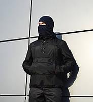 Анорак мужской черный ТУР Warrior