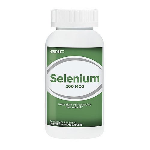 Витамины GNC Selenium 200 mg 200 tabs