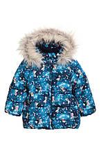 Куртка еврозима для девочки 3-4 года с рисунком Frozen от H&M Швеция Размер 104
