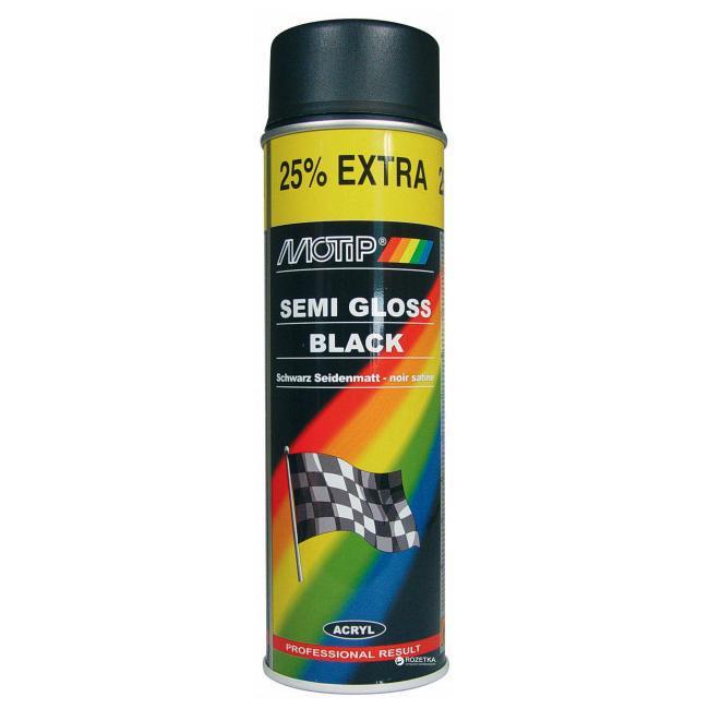 Краска черная глянцевая Motip 04005