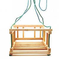 Качели детские деревянные подвесные Винни ПУх (ВП 001)