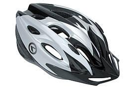 Шлем  KLS Blaze black grey S-M