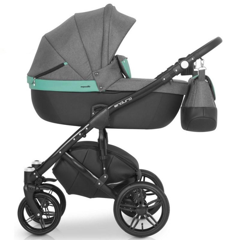 Детская универсальная коляска 2 в 1 Expander Enduro 01 Malachit
