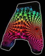 Алладины Фракталы. Индийский штаны. Штаны для йоги
