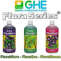 Удобрение GHE Flora Series Micro+Gro+Bloom 3x1L HW