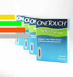 Тест полоски для глюкометра OneTouch Select  #50 - Ван Тач Селект - АКЦИЯ!