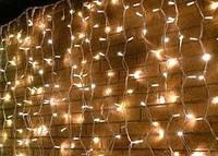 Светодиодная гирлянда мерцающий дождь Flash, 3х0,6м, 150 LED, Каучук