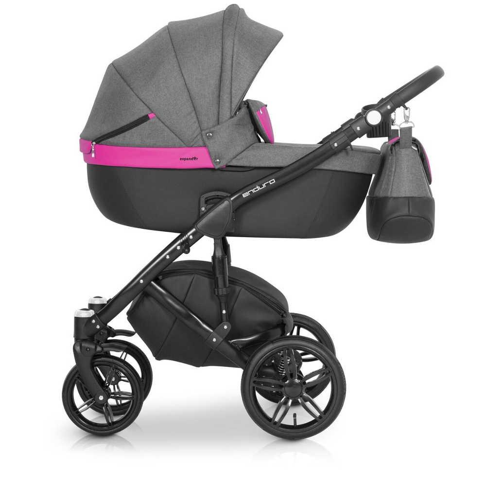 Детская универсальная коляска 2 в 1 Expander Enduro 06 Magenta