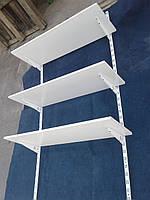 Настенный стеллаж для обуви б/у, полки для обуви б/у, настенные полки для обуви б у, фото 1