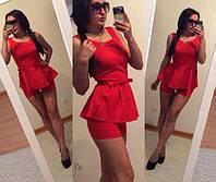 Стильный женский костюмчик с шортами