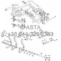 Многоходовой клапан II на YTO X704, фото 1