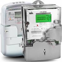 Электросчетчик НІК 2104-02.40ТВ 220В (5-60)А с PLC-модулем однофазный многотарифный
