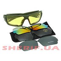Тактические очки ESS Rollbar 4LS Kit Olive 11878 7908ce74df775