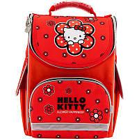 Ранець (рюкзак) - каркасный школьныйдля девочки - Хелоу Китти,501 Hello KittyHK18-501S-2 Kite