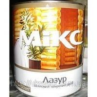 Лак Лазурь «Микс» для дерева 2,3 кг дуб, орех, махагон, черный, 1л