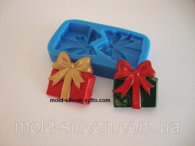 """Силиконовый молд """"Подарки"""""""