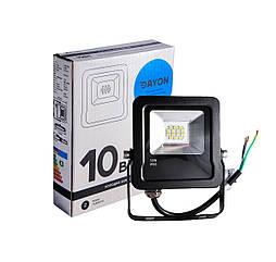 Прожектор светодиодный уличный DAYON LSR-1501 10W 6500K IP65