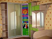 Детски угловой шкаф