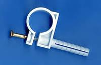 Обойма для труб и кабеля с ударным шурупом 15-16мм