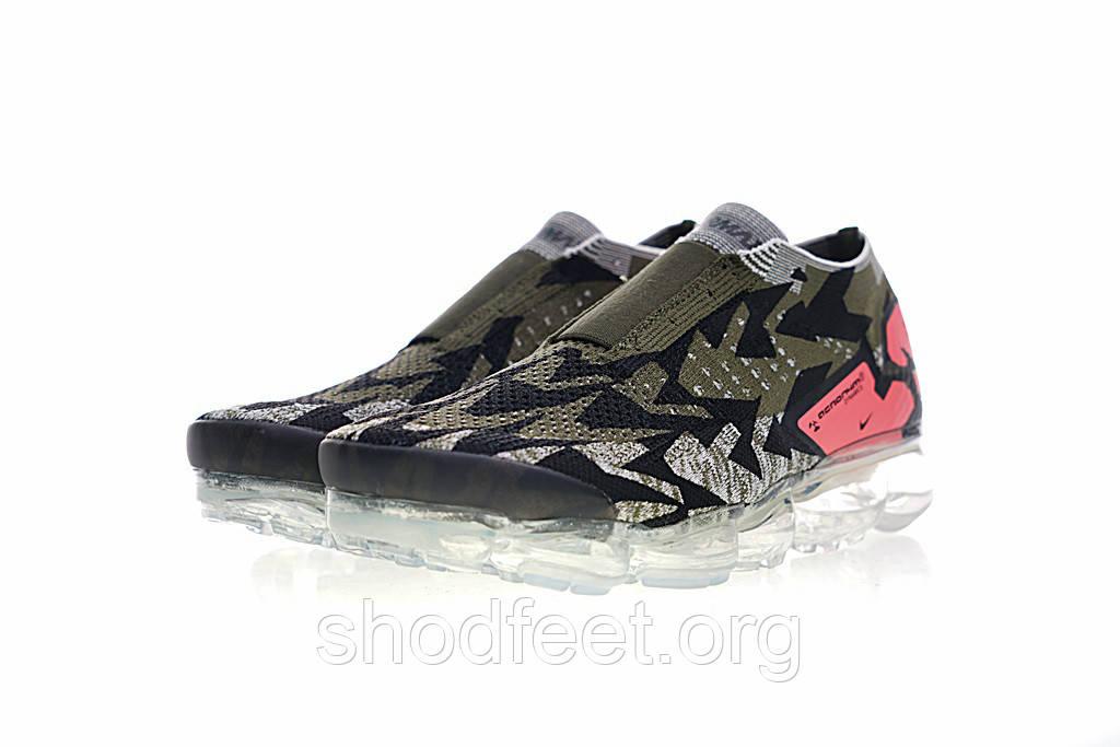 separation shoes 22fe1 4c16d Мужские кроссовки ACRONYM x Nike Air VaporMax Moc 2 Sail Dark Stucco Cargo  Khaki - ShodFeet