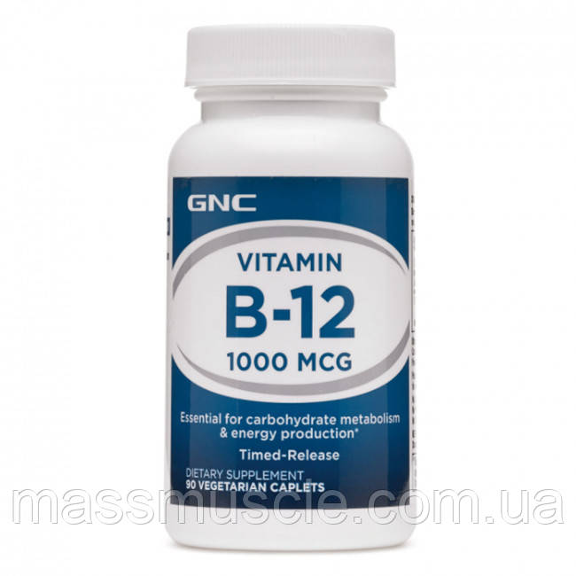 Витамины GNC VIT B-12 1000 90 caps