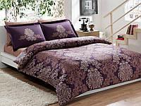 Комплект постельного белья 200х220 TAC DELUX-SATIN PAVONA V07
