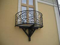 Ограждение для террас и балконов кованые